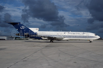 Champion Air Boeing 727-2S7 N682CA (msn 22019) MIA (Bruce Drum). Image: 100548.
