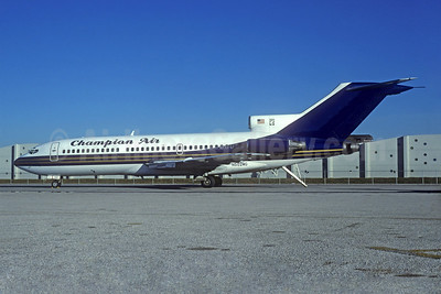 Champion Air Boeing 727-191 N502MG (msn 19391)  (MGM Grand Air colors) MIA (Christian Volpati Collection). Image: 933606.