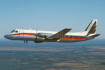 Chaparral Airlines Grumman G-159 Gulfstream I N17CA (msn 123) (Jay Selman). Image: 403944.