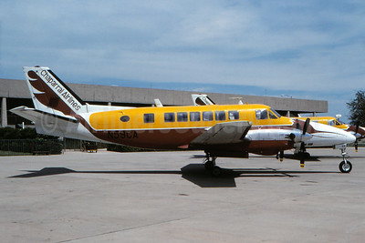 Chaparral Airlines Beech 99 Airliner N59CA (msn U-87) ABI (Fernandez Imaging Collection). Image: 931196.