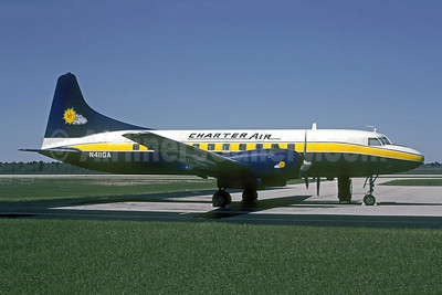 Charter Air Convair 440-0 N411GA (msn 472) (Gulf Air Transport colors) (Christian Volpati Collection). Image: 908653.