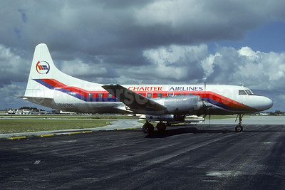 Charter Airlines Convair 580 N900WC (msn 110) FLL (Nigel P. Chalcraft). Image: 908654.
