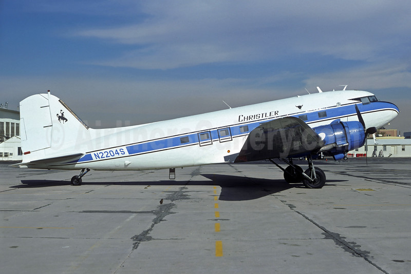 Christler Flying Service Douglas C-47A-DK (DC-3) N2204S (msn 12798) DEN (Christian Volpati Collection). Image: 930295.