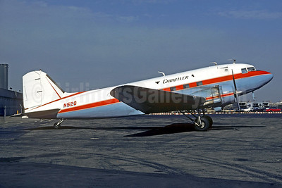Christler Flying Service Douglas C-47A-DK (DC-3) N520 (msn 11851) LGA (Christian Volpati Collection). Image: 930296.