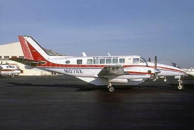 Christman Air System Beech C99 Airliner N107SX (msn U-176) DCA (Joseph D. Lezark - Bruce Drum Collection). Image: 951631.
