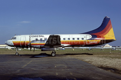 Coastal Airlines Express Convair 440-40 N137CA (msn 317) FRG (Fred Freketic). Image: 953630.
