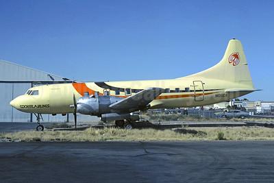 Cochise Airlines Convair 440-40 N136CA (msn 400) TUS (John Wegg - Christian Volpati Collection). Image: 946331.
