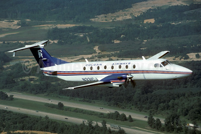 Colgan Airways (1st) Beech 1900C N331CJ (msn UB-31) (near Manassas) (Jay Selman). Image: 402546.