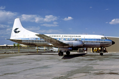 Combs Freightair Convair 440-75 (F) N94CF (msn 394) DEN (Bruce Drum). Image: 103675.