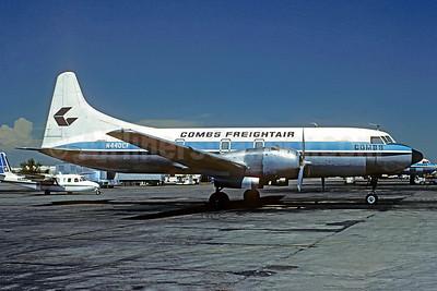 Combs Freightair Convair 440 (F) (340-62) N440CF (msn 200) DEN (Bruce Drum). Image: 104830.