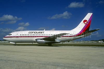 Conquest Airlines Boeing 737-214 N460AC (msn 20158) FLL (Christian Volpati). Image: 932382.