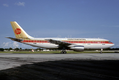 Airline Color Scheme - Introduced 1984 (red logo, small titles) - Best Seller