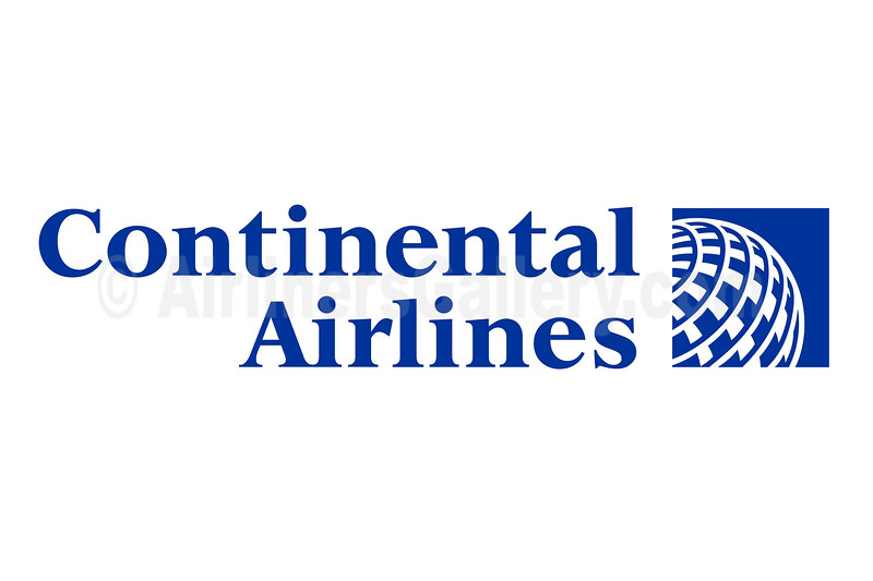 1. Continental Airlines logo