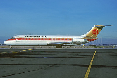 Continental Airlines McDonnell Douglas DC-9-32 N3506T (msn 47765) SJC (Thomas Livesey). Image: 907656.