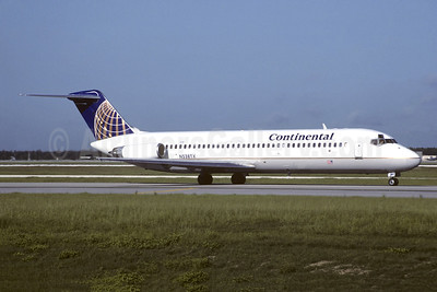 Continental Airlines McDonnell Douglas DC-9-32 N538TX (msn 47218) (Christian Volpati Collection). Image: 941325.
