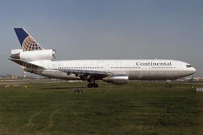 Continental Airlines McDonnell Douglas DC-10-30 EI-DLA (msn 46958) LGW (SPA). Image: 954481.