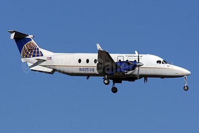 Continental Connection-Gulfstream International Airlines Beech (Raytheon) 1900D N81538 (msn UE-199) MIA (Brian McDonough). Image: 901860.