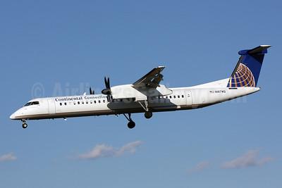 Continental Connection-Colgan Air (2nd) Bombardier DHC-8-402 (Q400) N187WQ (msn 4187) BWI (Brian McDonough). Image: 901224.