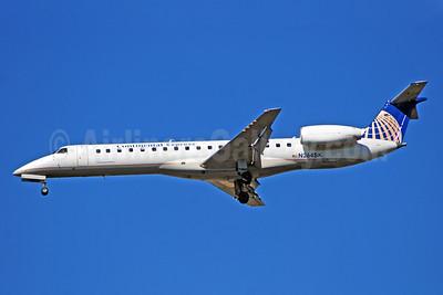Continental Express-Chautauqua Airlines Embraer ERJ 145LR (EMB-145LR) N264SK (msn 145221) ATL (Bruce Drum). Image: 100735.