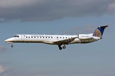 Continental Express-ExpressJet Airlines Embraer ERJ 145LR (EMB-145LR) N11535 (msn 145518) BWI (Brian McDonough). Image: 903253.