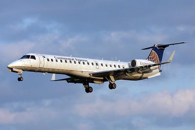Continental Express-ExpressJet Airlines Embraer ERJ 145XR (EMB-145XR) N11150 (msn 145756) BWI (Brian McDonough). Image: 904011.