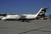 Continental Jet Express-Presidential Airways BAe 146-200 N404XV (msn E2064) (Presidential colors) PHL (Robert Drum). Image: 103069.