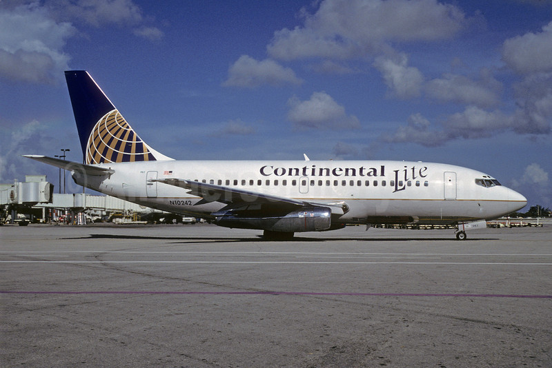"""Continental Airlines' """"Continental Lite"""" service"""