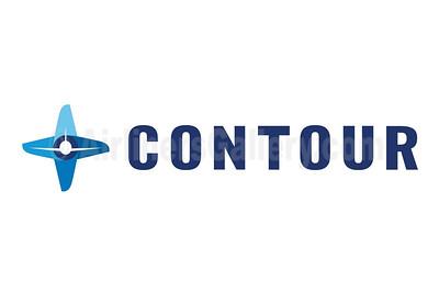 1. Contour Airlines logo