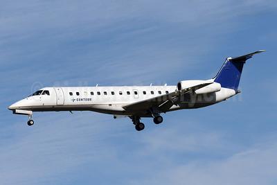 Contour Airlines Embraer ERJ 135ER (EMB-135ER) N16502 (msn 145166) (Continental Express colors) BWI (Brian McDonough). Image: 939374.