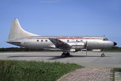 Contract Air Cargo Convair 340-32 (F) N3427 (msn 90) PTK (Jacques Guillem Collection). Image: 955172.