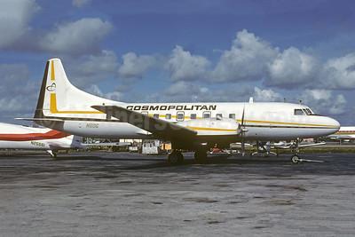 Cosmopolitan Airlines Convair 440-68A N5DG (msn 148) MIA (Bruce Drum). Image: 104880.