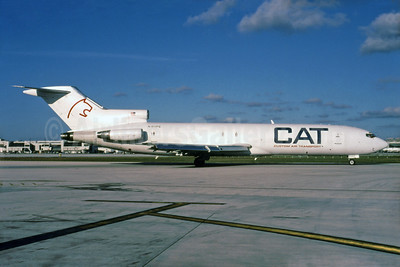 Custom Air Transport - CAT Boeing 727-232 (F) N511PE (msn 20634) MIA (Bruce Drum). Image: 103664.