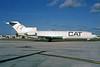 Custom Air Transport - CAT Boeing 727-232 (F) N511PE (msn 20634) MIA (Bruce Drum). Image: 103664.