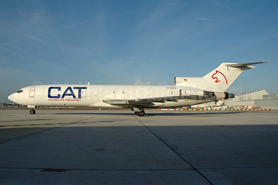 Custom Air Transport - CAT Boeing 727-2J7 (F) N128NA (msn 20879) MIA (Bruce Drum). Image: 100532.