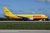 DHL-ABX Air Boeing 767-281 (F) N798AX (msn 23431) MIA (Jay Selman). Image: 402194.