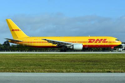 DHL-ABX Air Boeing 767-383 ER (F) N371CM (msn 25577) MIA (Ken Petersen). Image: 936549.