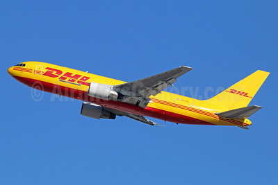 DHL-ABX Air Boeing 767-281 (F) N774AX (msn 22789) LAX (Michael B. Ing). Image: 930525.
