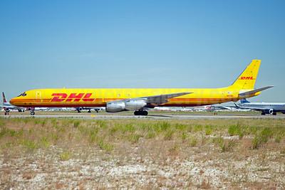 DHL - Astar Air Cargo McDonnell Douglas DC-8-73 (F) N803DH (msn 46123) JFK (Fred Freketic). Image: 950188.