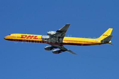 DHL - Astar Air Cargo McDonnell Douglas DC-8-73 (F) N806DH (msn 46002) LAX (Ron Monroe). Image: 945079.