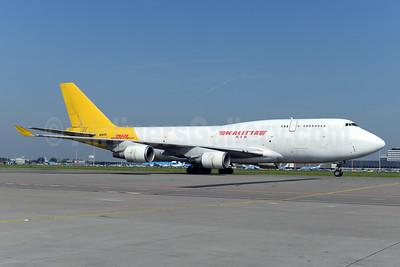 DHL-Kalitta Air (2nd) Boeing 747-446 (BCF) N743CK (msn 26350) AMS (Ton Jochems). Image: 923801.