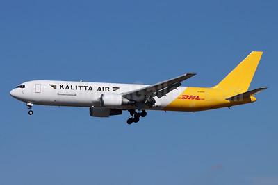 DHL-Kalitta Air (2nd) Boeing 767-3P6 ER (F) N765CK (msn 26238) LAX (Michael B. Ing). Image: 953076.