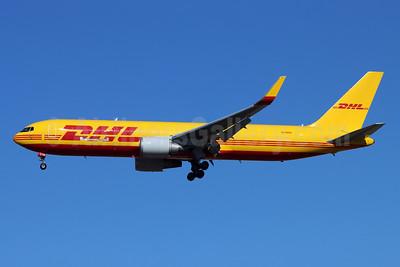 DHL-Kalitta Air (2nd) Boeing 767-324 ER (F) WL N739DH (msn 27392) LAX (Michael B. Ing). Image: 952410.
