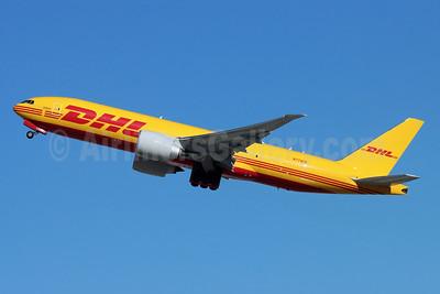 DHL-Kalitta Air (2nd) Boeing 777F N774CK (msn 66084) LAX (Michael B. Ing). Image: 952408.