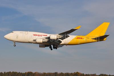 DHL-Kalitta Air (2nd) Boeing 747-446 (BCF) N743CK (msn 26350) BWI (Tony Storck). Image: 944792.