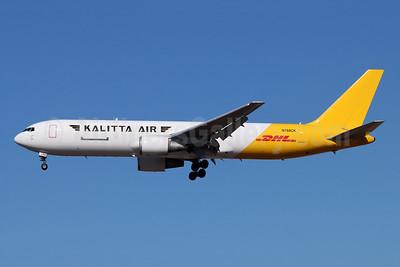 DHL-Kalitta Air (2nd) Boeing 767-341 ER (F) N760CK (msn 24753) LAX (Michael B. Ing). Image: 952411.