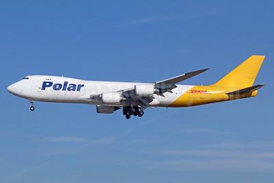 DHL-Polar Air Cargo Boeing 747-87UF N852GT (msn 37571) LAX (Michael B. Ing). Image: 940181.