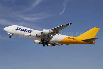 DHL-Polar Air Cargo Boeing 747-47UF N416MC (msn 32838) LAX (James Helbock). Image: 909482.