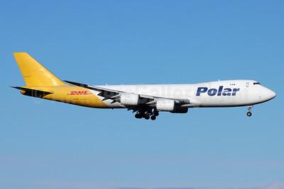DHL-Polar Air Cargo Boeing 747-87UF N851GT (msn 37565) ANC (Michael B. Ing). Image: 951744.