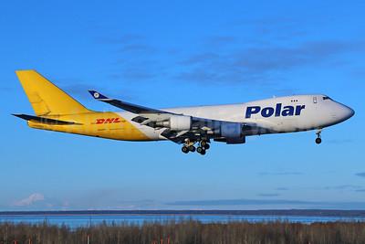 DHL-Polar Air Cargo Boeing 747-46NF N454PA (msn 30812) (DHL colors) ANC (Michael B. Ing). Image: 925058.