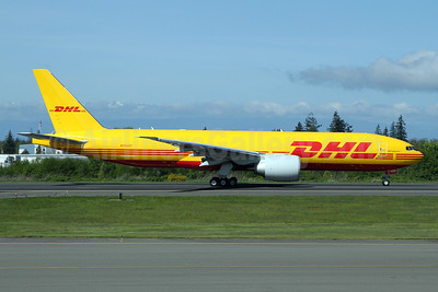 First Boeing 777F in full DHL colors